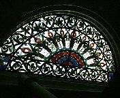 科学博物館のステンドグラス